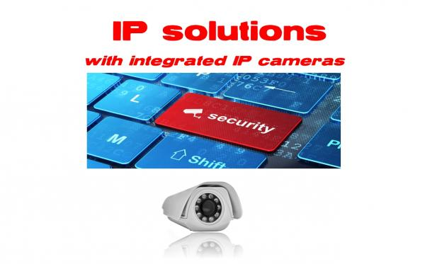 IP solutions (IP camera integrata)